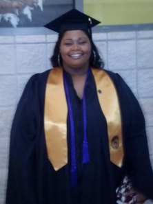 Yates Scholar Jaretta Shaw at her graduation from Kennesaw State University