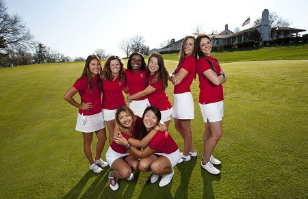 2014 Curtis Cup Team Practice Session